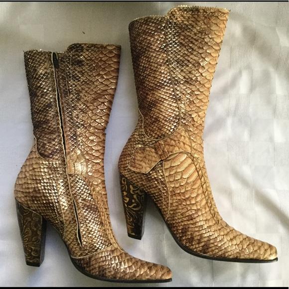 e798e0bf9723 El Vaquero Shoes | Ladies Hand Made Italian Boots | Poshmark